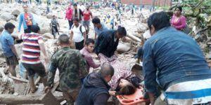 Asciende a 262 el número de muertos por avalancha en Colombia
