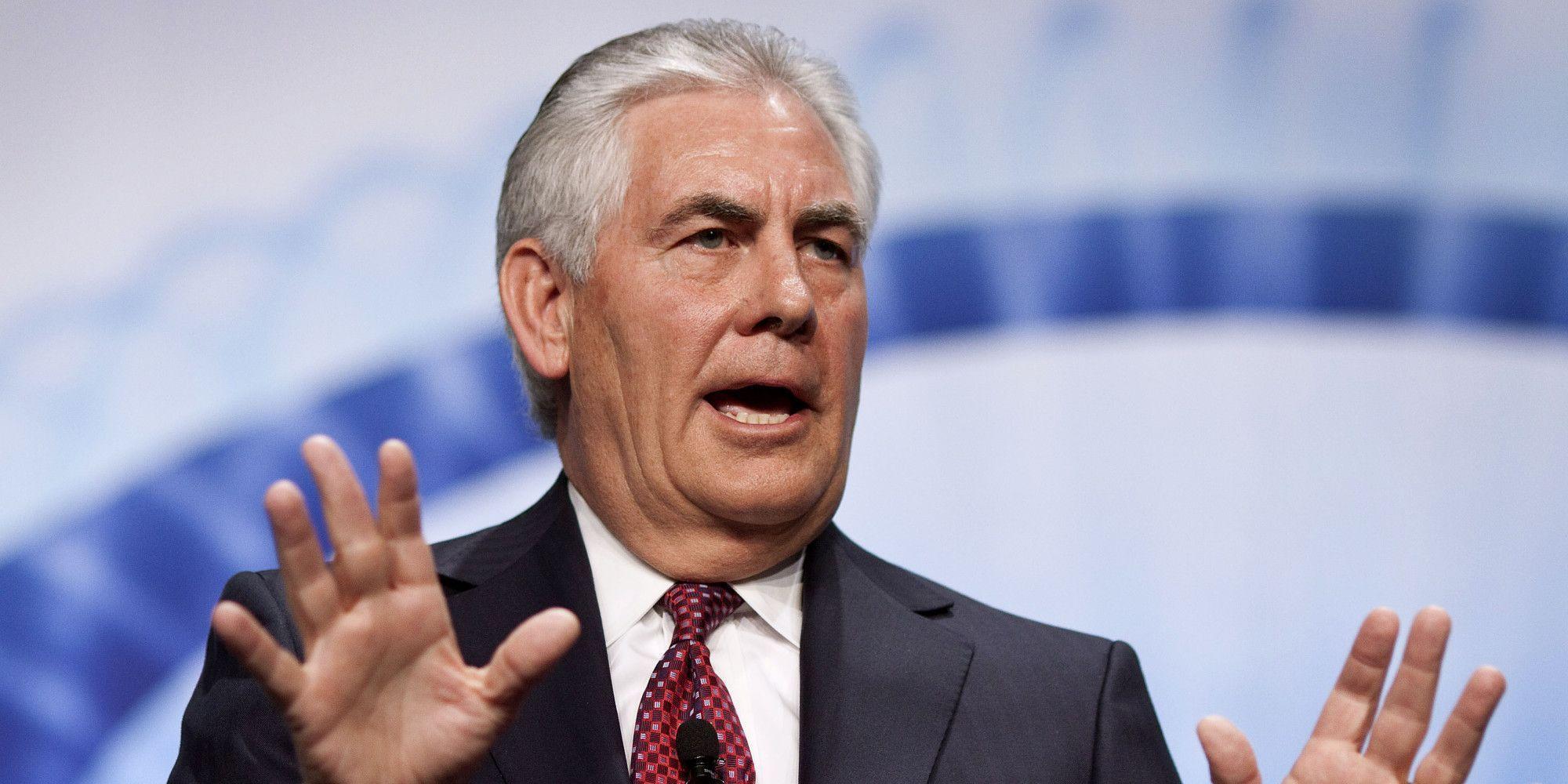 Tillerson niega renunciar a su cargo como Secretario de Estado de EU