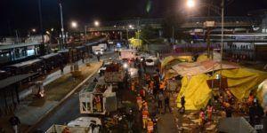 Retiran puestos ambulantes de las inmediaciones de Metro San Lázaro