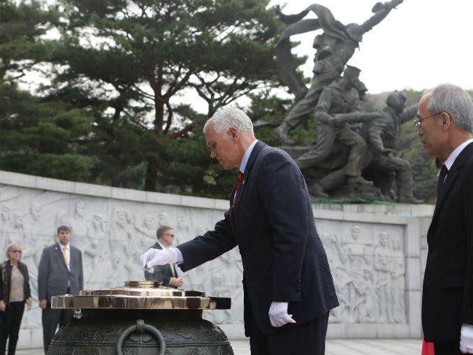 Terminó la paciencia con Corea del Norte: Pence