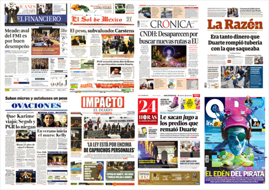 Se niega a la extradición cómplice de Duarte detenido en España