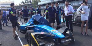 Gana Di Grassi en la Fórmula E