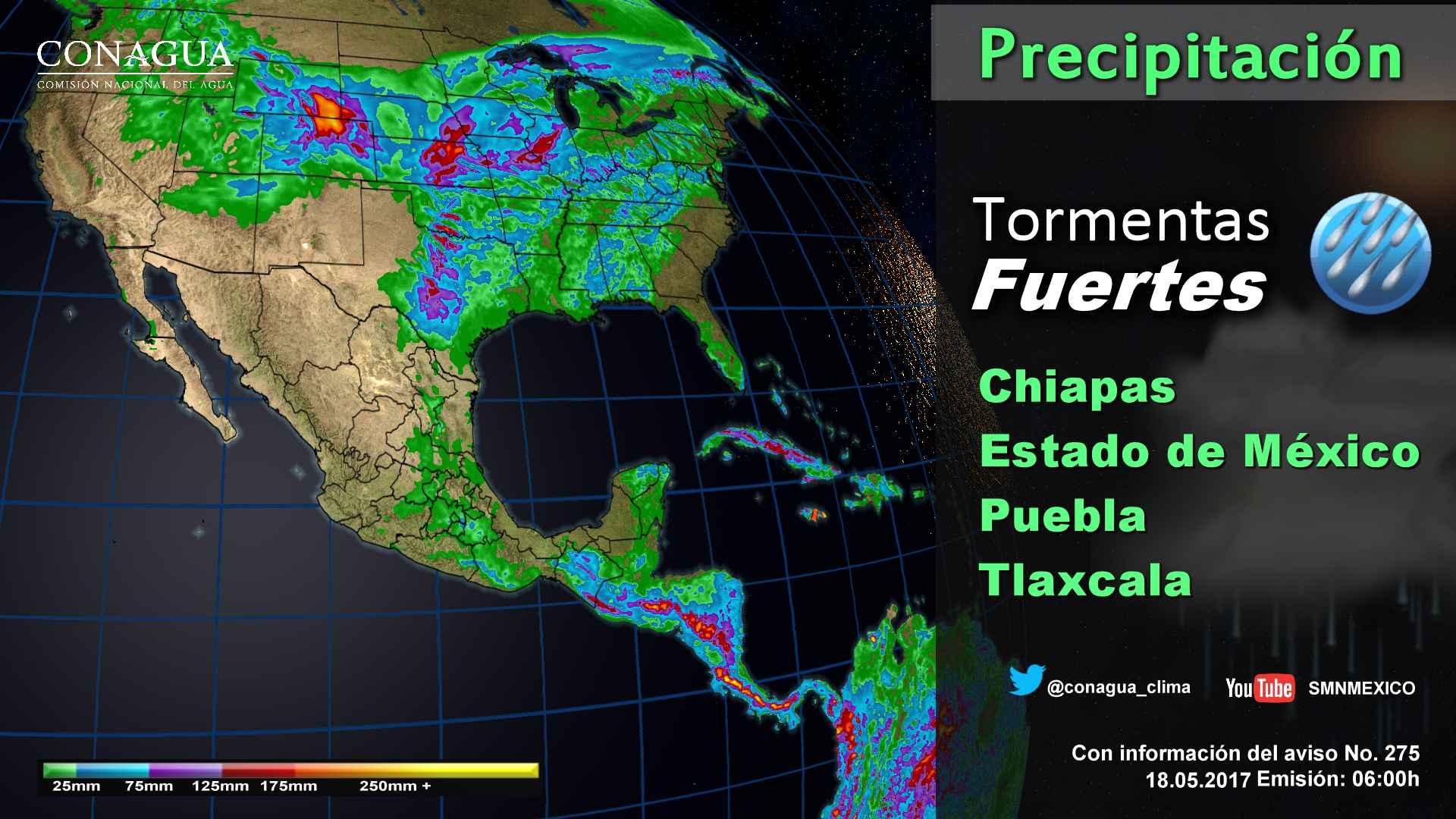 Alertan por torbellinos o tornados con granizadas en noreste del país