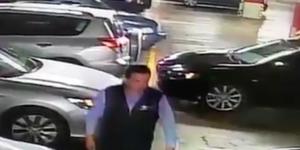 #Video Así operan ladrones en estacionamientos de centros comerciales