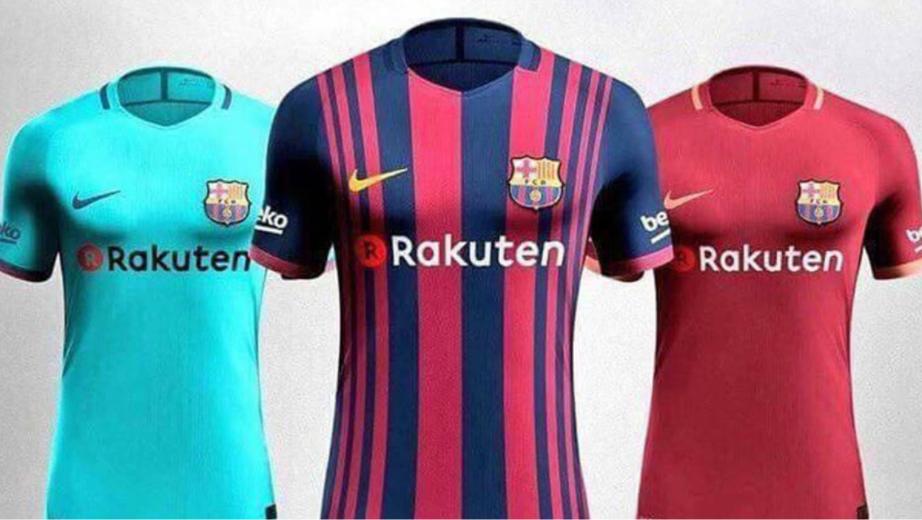 Así serán los nuevos uniformes del Barcelona