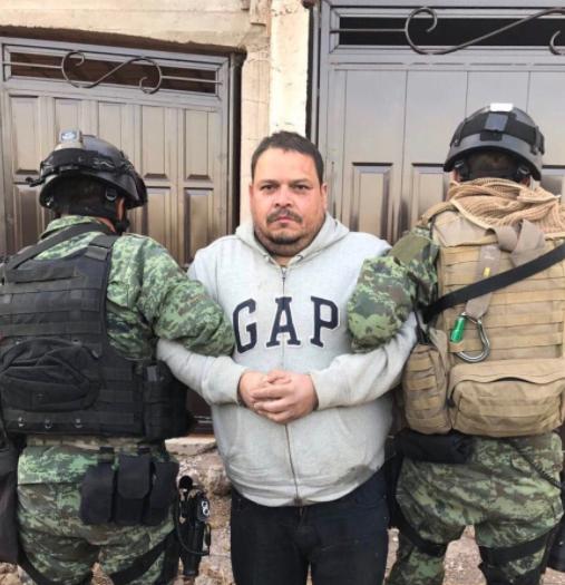 Confirman detención de líder del cártel del Golfo en Zacatecas