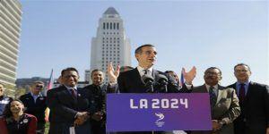 Alcalde de Los Ángeles tiene plan B para Juegos Olímpicos