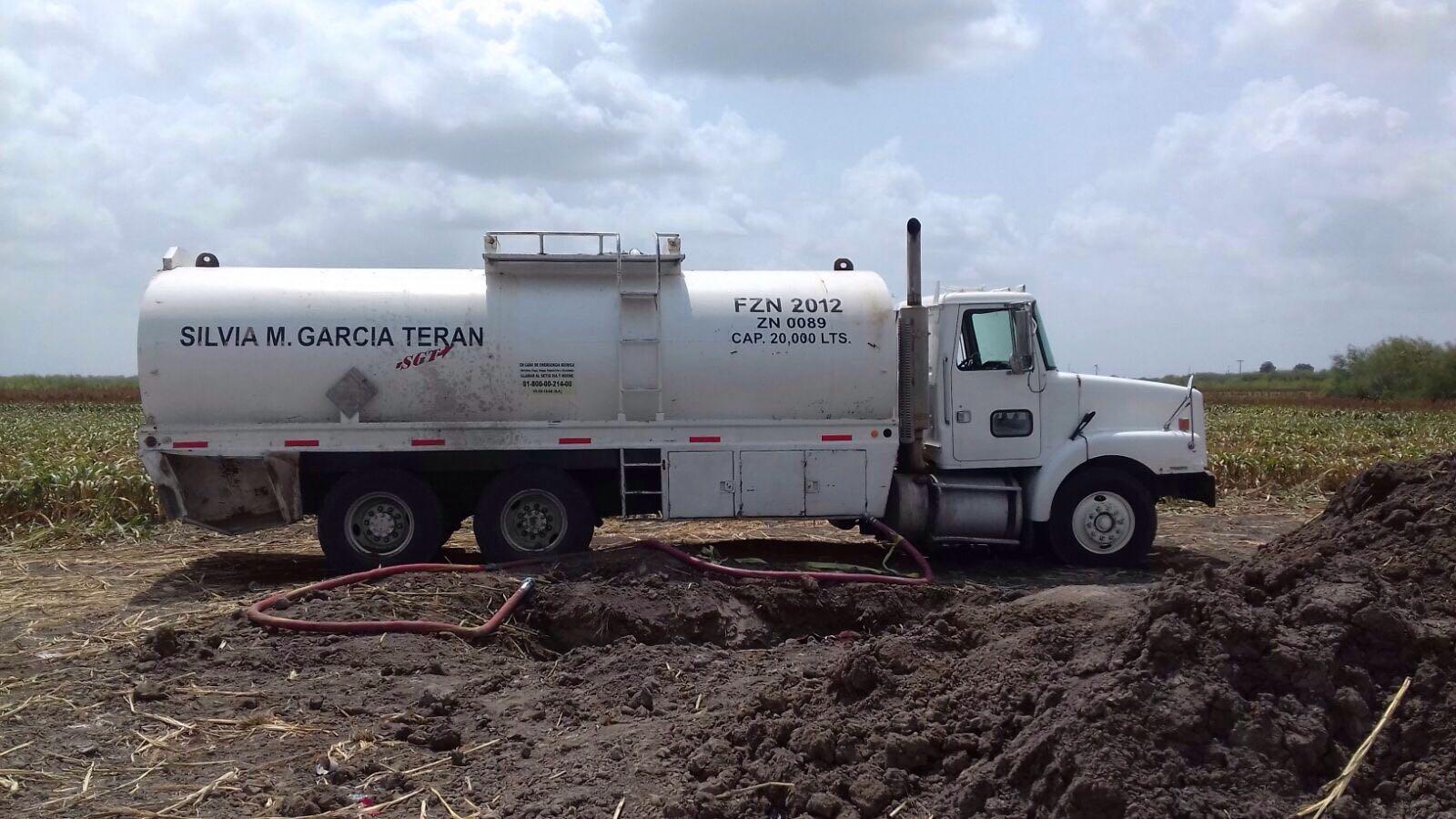 Aseguran 53 mil litros de gasolina en dos operativos