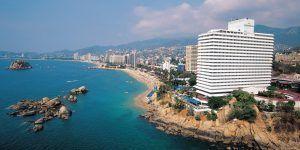 Ocupación hotelera en zona dorada de Acapulco al 91.7 por ciento