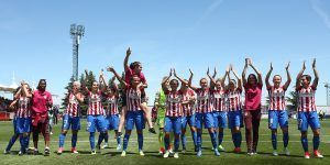 Mexicana gana título con el Atlético de Madrid femenil