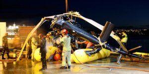 #Video Caída de helicóptero deja tres lesionados en Noruega