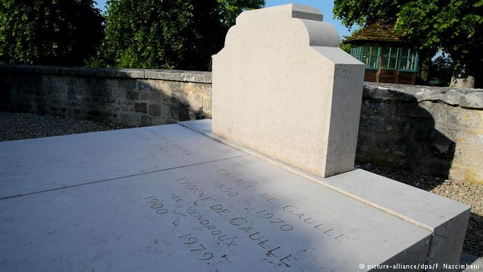 Vandalizan la tumba de De Gaulle; consternación en Francia