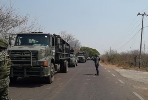 Fuerzas federales intervienen en San Miguel Totolapan, Guerrero
