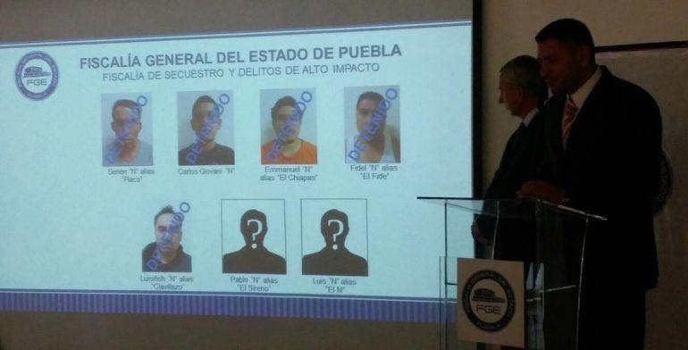 Caen presuntos atacantes de familia en la México-Puebla