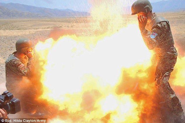 Fotógrafa del ejército de EE.UU. captó su propia muerte