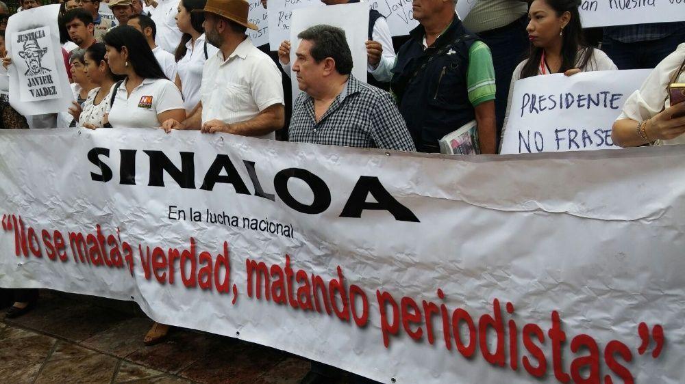 Repudia Argentina el asesinato del periodista Javier Valdez