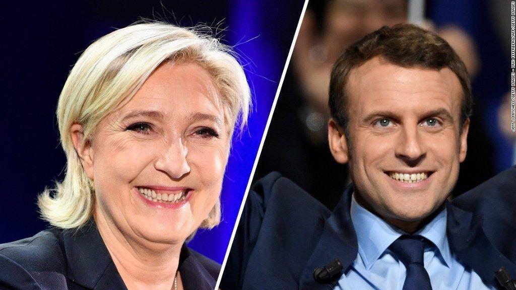 Francia: Evacúa la Explanada del Louvre, donde Macron celebrará su velada