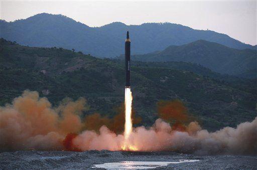 Norcorea lanzó un nuevo misil