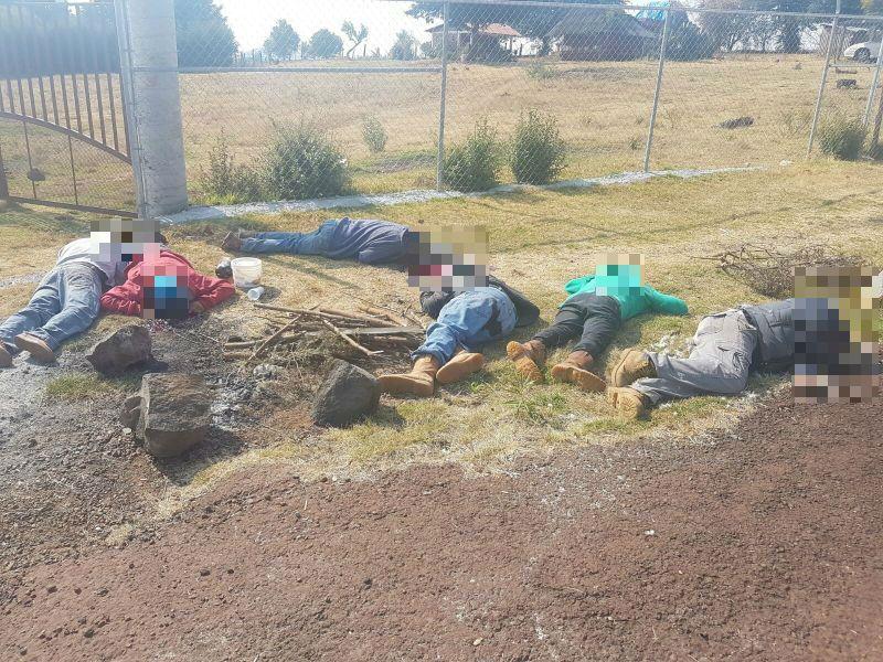 Reportan el hallazgo de 6 hombres asesinados en Michoacán