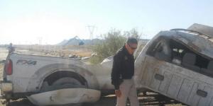 Volcadura en Coahuila deja una menor muerta