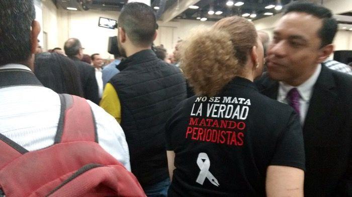 Periodistas protestan contra crímenes — Mexico