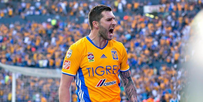 Tigres golea a Rayados