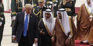 Trump y el rey Salman se reúnen en Arabia Saudita