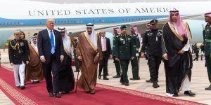 Trump llega a Arabia Saudita