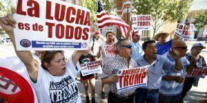 Latinos proponen crear gran coalición contra Trump