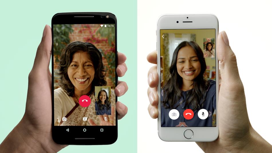 India, el país con más videollamadas en WhatsApp