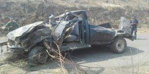 Volcadura deja nueve muertos y seis lesionados en Guerrero