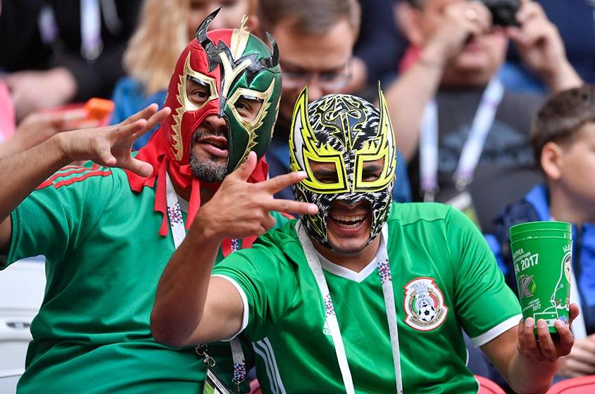 La afición mexicana espera los primeros tres puntos ante el rival más complicado del grupo