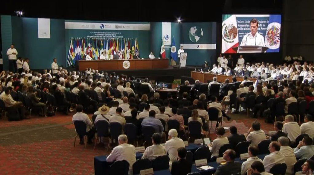 Asamblea de OEA entra en recta final con resolución sobre Venezuela pendiente