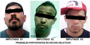 Detienen a tres por robo a 'El Parnita'