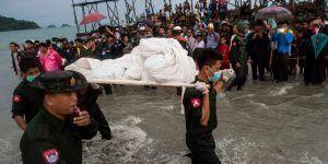 Hallan 10 cadáveres tras desaparición de avión en Myanmar