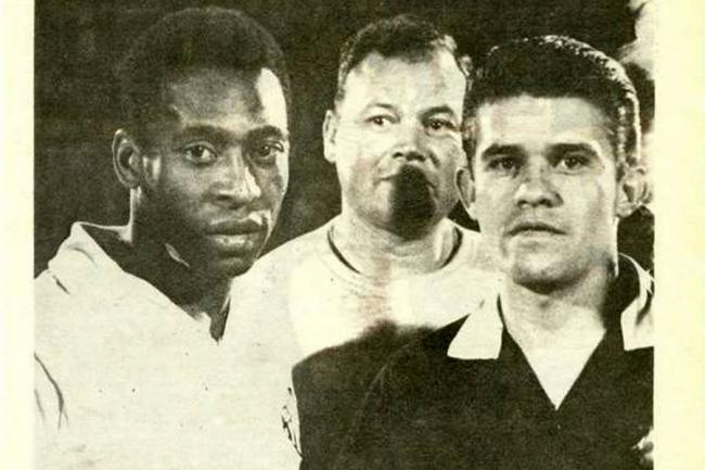 Fallece exárbitro que expulsó a Pelé en amistoso en Bogotá en 1968