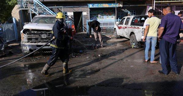 Atentados suicidas dejan al menos 29 muertos en el centro de Irak