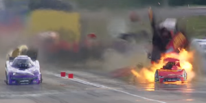 courtney force car explosion