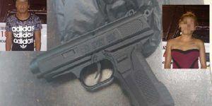Pareja comete secuestro con arma de juguete