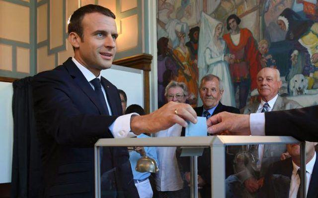 elecciones en francia Macron