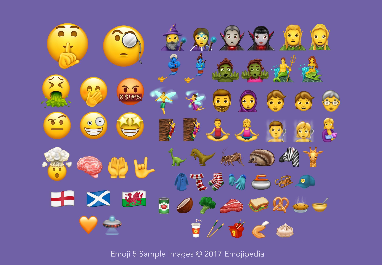 Se vienen casi setenta nuevos emojis a Whatsapp y algunos son desopilantes