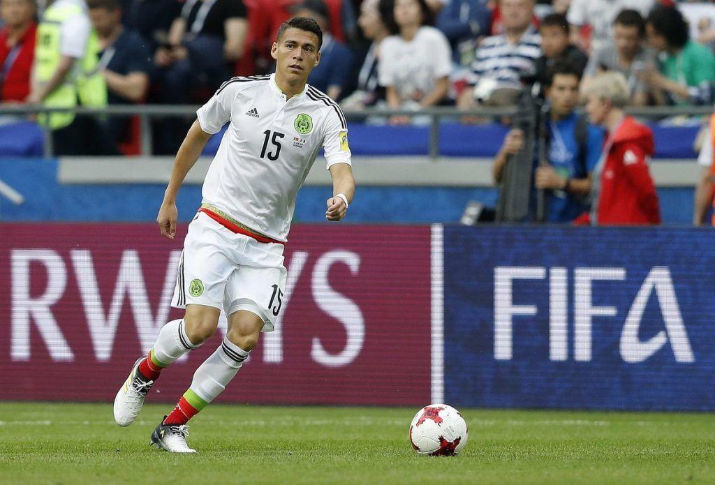 Héctor Moreno está en duda para enfrentar a Rusia en Copa Confederaciones