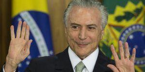 Michel Temer seguirá en la presidencia de Brasil