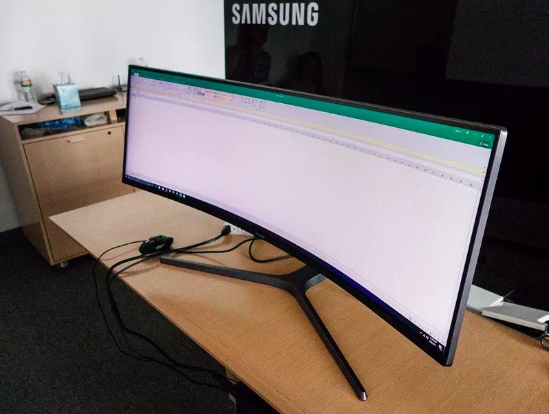 Resultado de imagen para monitor curvo grande