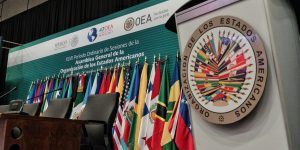 Comienza la Asamblea General de la OEA en Cancún