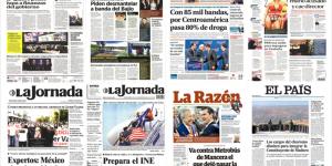 EPN y Trump en primeras planas del viernes