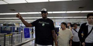 Dennis Rodman visita Corea del Norte en medio de tensiones