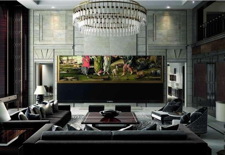 Lanzan el televisor más grande del mundo