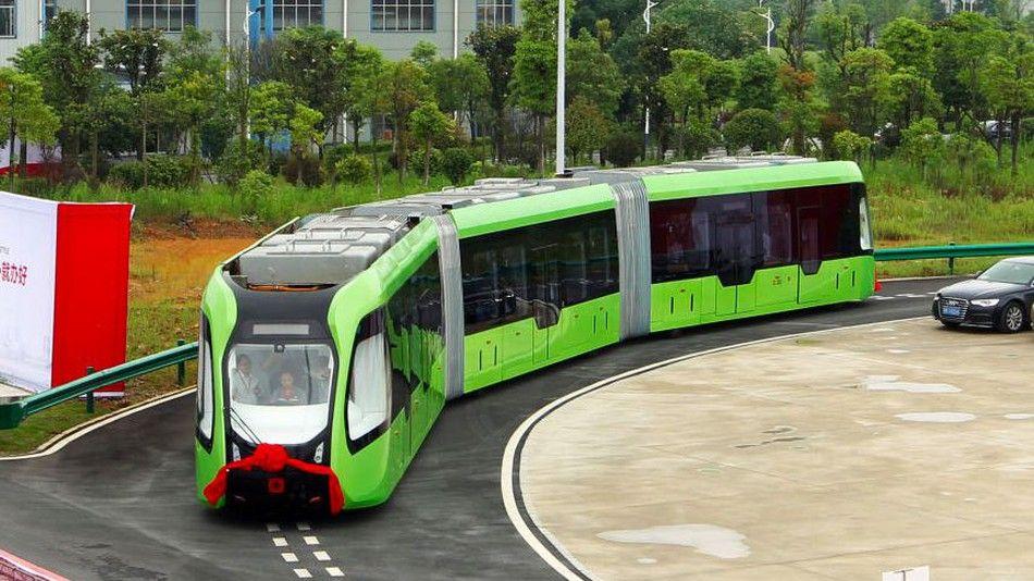 Desarrolla China el primer autobús rápido autónomo del mundo
