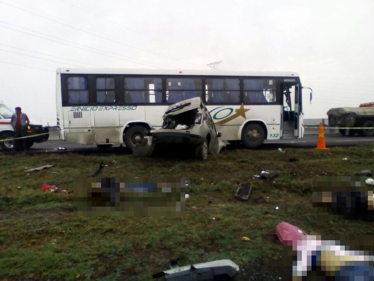 Fatal accidente deja 6 mujeres muertas y 10 heridos